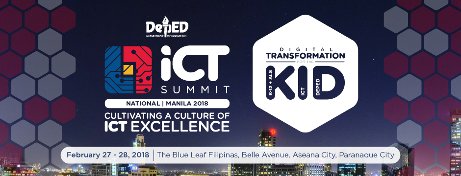 The National DepEd ICT Summit